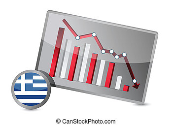 greece suffering crisis graph