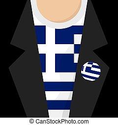 Greece T-Shirt Vector Illustration