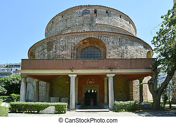 Greece, Thessaloniki aka Saloniki, Rotunda - former church...