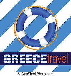 greece travel with life saver