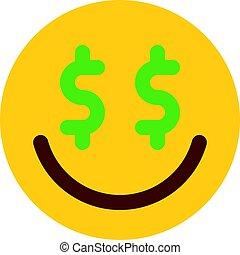 greed emoji
