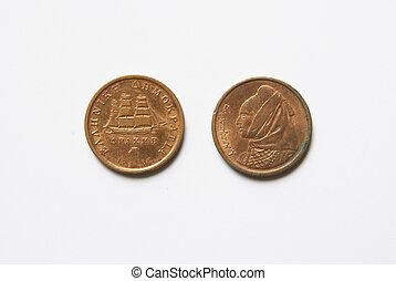 Greek 1 Drachma Coins (before Euro)
