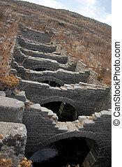 Greek Aquaduct - Greek aquaduct at Delos