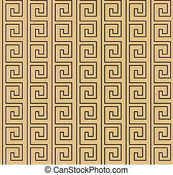 Greek brown pattern