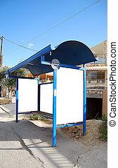Greek bus stop 02