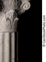 Greek Column with corithian capital