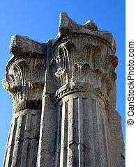 Greek columns - Corinthian style columns