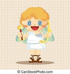 Greek deity theme elements
