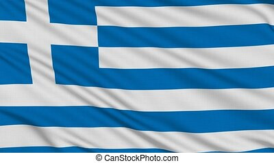 Greek flag, with real structure of a fabric