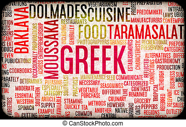 Greek Food Menu