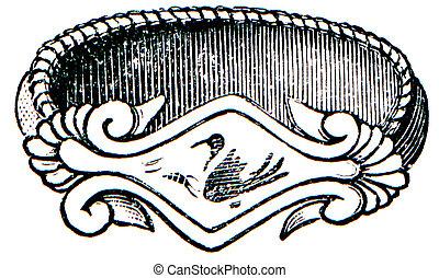 Greek gold ring 6th century BC