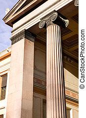 Greek Ionic Column