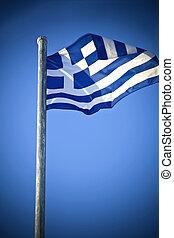 greek lobogó, nemzeti