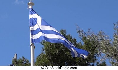 greek national flag