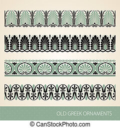 Old greek ornament. Vector illustration.