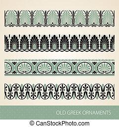 Greek ornament - Old greek ornament. Vector illustration.