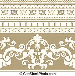 Greek ornament seamless pattern