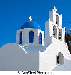 Greek orthodox church in Santorini, Greece