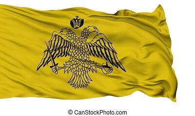 Greek Orthodox Church Religious Isolated Waving Flag