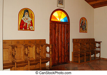 Greek Orthodox Church Vestibule