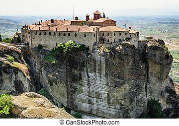 Greek orthodox monastery, Meteora, Greece - Greek orthodox ...