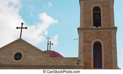 Greek Orthodox monastery on Shepherds Fields in Beit Sahour near Jerusalem