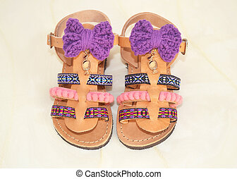 greek sandals for kids