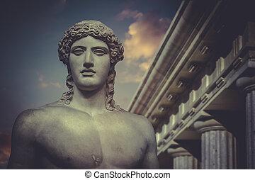 Greek Sculpture, Statue of Hercules - Greek Sculpture,...
