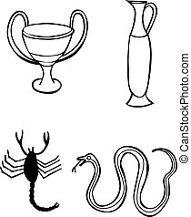 Greek signs and symbols - tattoo
