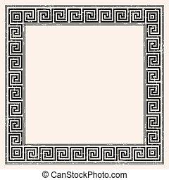 Greek style background.