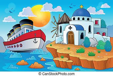 Greek theme image 8