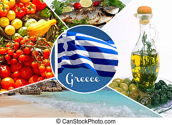 Greek traditional food