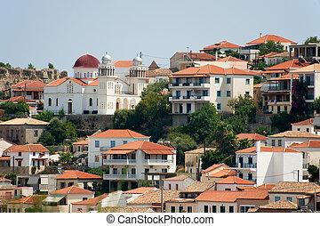 Greek village