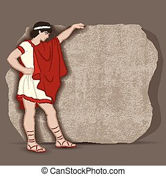 Ancient Greek Citizen Clipart