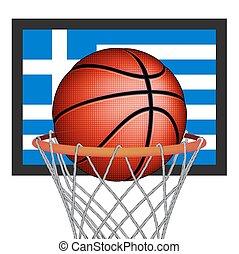 Greeks basket ball