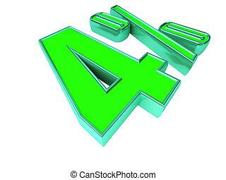 Green 4 Percent