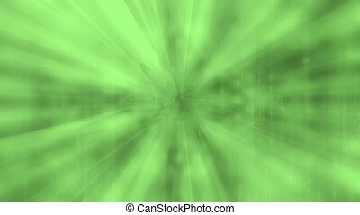 Green abstract animated background loop