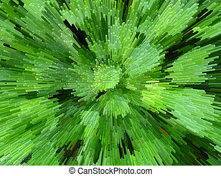 Green abstract background - The image of the green abstract...
