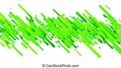 Green abstract background on white.