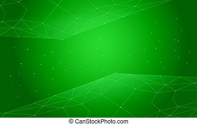 Green abstract background style collection