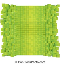Green Abstract Background. Vector Ready for Design