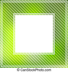 green abstract border