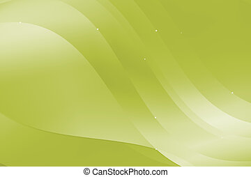 Green abstract design with wavy and curve background