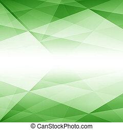 Green Abstract Futuristic Backgroun