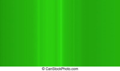 Green abstract glitch mode bars looping background -...