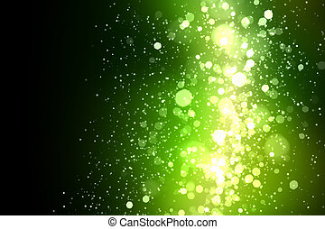 Green abstract light background