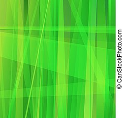 Green Abstract Line Background - Background with layered...