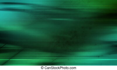 Green abstract looping background