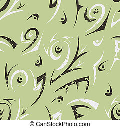 green abstract seamless
