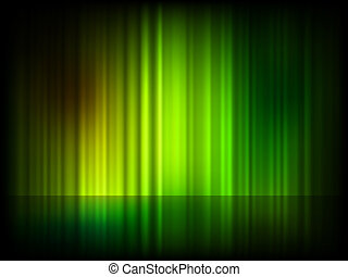 Green abstract shiny background. EPS 8